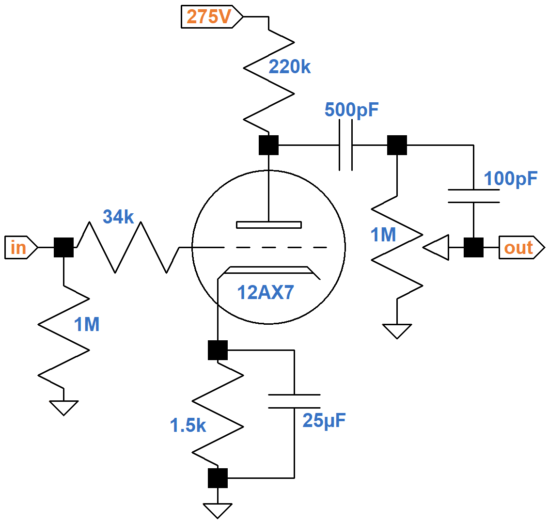 vox ac30 silver jubilee circuit analysis