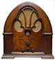 Philco cathedral radio